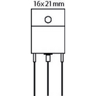 Transistor SI-P 230 VDC 15 A 130W 35MHz