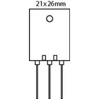 Transistor SI-P 230 VDC 15 A 150W 25MHz
